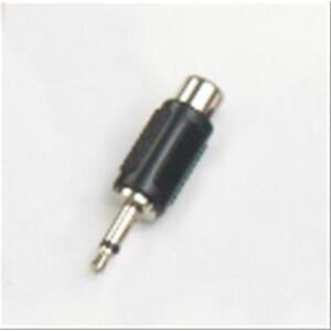 Adattatore presa RCA - spina mini Jack 3,5 mm mono in ABS e metallo HY1721 Maste