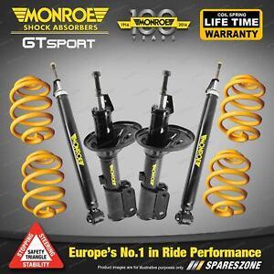 Monroe GT Sport Shocks King Super Low Spring for Ford Fairlane NA NC Sedan 8CYL