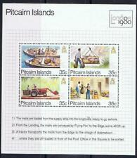 Pitcairn Islands 1980 London Mini Sheet MNH
