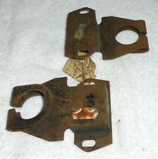 NEW OLD STOCK EXHAUST MOUNTINGS X2  MORRIS OXFORD COWLEY SERIES 2