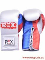 Custom Made Shiny Boxing Gloves Training , Competition & Sparring