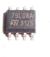 St Microelectronics 79L08 Voltage Regulator Smd (20 Pcs)