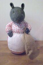 """Goody ringhiando da Beatrix Potter una nuova mano a maglia bambola giocattolo/35.5 cm/14"""" """"Tall"""