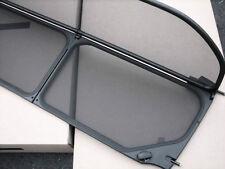 BMW 328i 335i M3 E93 Convertible Wind Deflector Windscreen Black 2007-2013 OEM