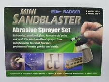 BADGER #260-3 MINI SANDBLASTER ABRASIVE SPRAYER SET. NEW NEVER USED.