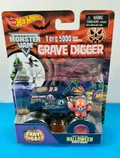 Rare Hot Wheels Monster Jam GRAVE DIGGER Halloween Limited Edition of 5000 (LF2)