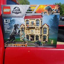 LEGO Jurassic World Indoraptor Rampage  Lockwood Estate 75930~SHIPS NOW IN HAND!