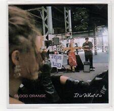 (FC675) Blood Orange, It Is What It Is - 2014 DJ CD