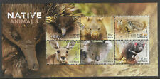 AUSTRALIA 2015 NATIVE ANIMALS Souvenir Sheet CTO/USED