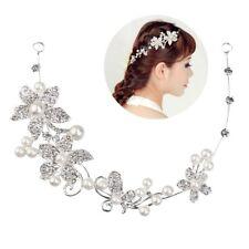 Haarschmuck Braut Haargesteck Hochzeit Kommunion Kunstperle Kopfschmuck  Blumen
