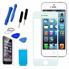 White LCD Replacement Screen Glass Lens Repair Tools Kit For iPhone 6 6S Plus