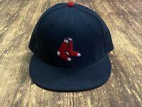 Boston Red Sox Men's Navy Blue MLB Baseball Hat - New Era - Size 7 3/8