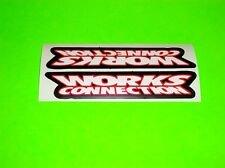 CR CRF YZ YZF KX KXF SX RM RMZ 65 85 100 125 250 450 WORKS CONNECTION STICKERS