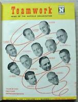 TEAM WORK NUFFIELD Bound Vol 1 Magazines Sept 1949 to Jul 1950 MG Riley WOLSELEY