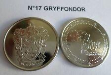 Pièce N°17 GRYFFONDOR neuve / coin jeton pour album Harry Potter GRINGOTTS