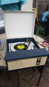 Fidelity vintage record player, HF35, transistor, works well, 1960's, retro