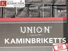 """10 kg UNION BRIX das Braunkohlebrikett """"ToGo"""" der *TOP* Gluthalter Kohlebriketts"""
