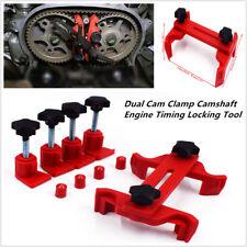 5Pcs Dual Cam Clamp Camshaft Engine Timing Locking Sprocket Gear Car Tool Kit