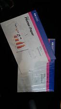 HP Glossy Plotter Paper Fotopapier, DIN A 3, 2 Pakete je 100 Blatt