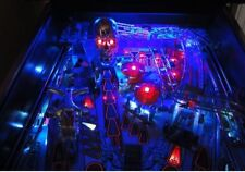 JUDGE DREDD, TWILIGHT ZONE, TERMINATOR 2 T2 Pinball Playfield Light mod BLUE