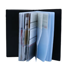 PU Leather 240 Cards Business Name Card Book Credit Card Holder Book Organizer