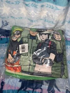 Naruto Shippuden Naruto Uzumaki Character & Gang Throw Blanket 45 x 60 Inches