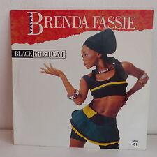 "MAXI 12"" BRENDA FASSIE Black President COL 656679 6"