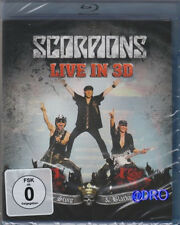 SCORPIONS + LIVE 2011 in 3D + Blue-Ray + Get Your Sting & Blackout + NEU + OVP +