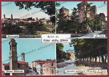 PERUGIA CITTÀ DELLA PIEVE 03 SALUTI da... Cartolina FOTOGRAFICA viaggiata 1965