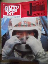 Autosprint 31 1969 Jacky ICKX e Jackie Stewart
