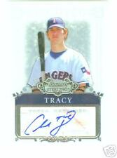 Chad Tracy Texas Rangers  2006 Bowman Sterling  Auto