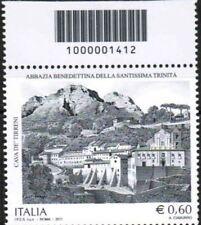 1412 CODICE A BARRE CAVA DE' TIRRENI ABBAZIA BENEDETTINA 0.60 ANNO 2011