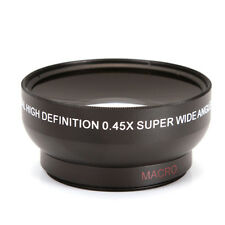 0.45X 49mm Wide Angle Macro Lens 0.45X49 49 Universal For DSLR SLR DV DC Camera