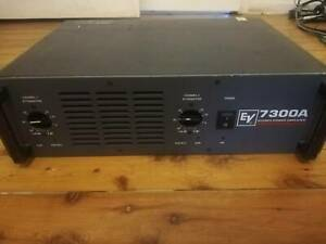 Electro Voice 7300 power amplifier