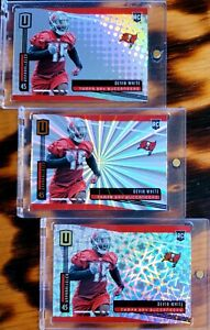 Devin WHITE 🔥 Tampa Bay BUCS 🏈 2019 UNPARALLELED * RC * HOLOFOIL ROOKIE LOT