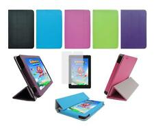 """Folio Skin Cover Case and Screen Protector for Amazon Kindle Fire HD 7"""" 2014"""