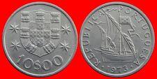 10 ESCUDOS 1973 SIN CIRCULAR PORTUGAL-0228SC