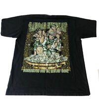 VTG Hip-Hop Rap Gangsta Lil USO Samoan Hustler Guarantee Get UR Money Back Shirt