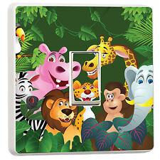 Cartoon Jungle Animals light switch cover kids bedroom (14320788) Cartoon