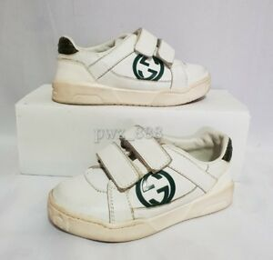 GUCCI Ace Baby Toddler Sneakers Size 23