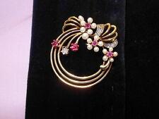 Reinheit SI Echtschmuck-Broschen & -Anstecknadeln aus mehrfarbigem Gold mit Diamant für Damen