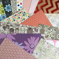 """SCRAPBOOKING PAPER - MIXED PACK of PATTERNED 12 x 12"""" PAPERS"""