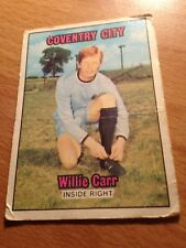 A&BC  Card -Orange Back 1970/71 - Willie Carr  - Coventry City - #9