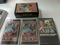 Grateful Dead- Without A Net- First Set & Second Set- Cassette Tapes & Best Of
