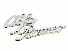 Genuine New ALFA ROMEO BOOT SCRIPT BADGE 146 147 156 159 Spider Giulia GT Mito