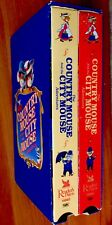 COUNTRY MOUSE & CITY MOUSE ADVENTURES ~Vintage Children's VHS Videos W/ Slipcase