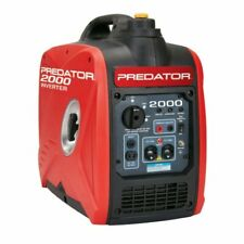 2Predator 2000 Watt Gas Generator - Quiet Portable Power Inverter