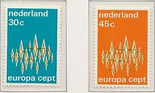 Nederland Europa CEPT  1972 1007-1008 (MI 987-988) - Postfris MNH