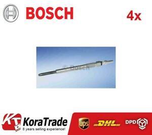4x BOSCH 0250204002 DIESEL HEATER GLOW PLUG