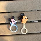Vintage+Disney+Mickey+Mouse+Baby+Infant+Rattle